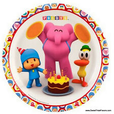 POCOYO Party Supplies PLATES LUNCH Pocoyó Birthday Decoration Kids Elly Fiesta 8