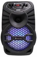 """8"""" Bluetooth 1200 Watts Professional FM Radio Karaoke Multimedia Speaker - EDGE8"""