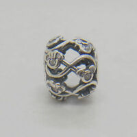 Authentic Sterling Silver Minnie & Mickey Infinity Disney CZ Bead Charm