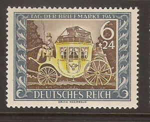 Stamp day 1943 Tag der Brief Marke muh