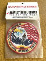 "1990 NASA KENNEDY SPACE CENTER vintage 4"" souvenir patch STS-36 SPACE SHUTTLE"