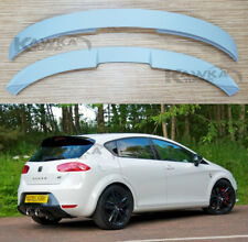 Seat Leon 1P MK2 2009-2012 After FaceLift Rear Roof Spoiler ~PRIMED & PREPARED~