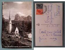 Val Gardena - S. Giacomo verso il Sassolungo 1958