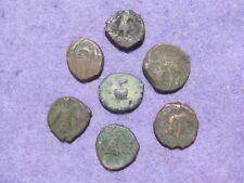 RARE Lot (7) pc.  Kushan/ Indo-Greek  Kingdoms  Bronze