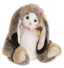Hunny Bunny by Charlie Bears - plush jointed collectable rabbit - CB202044A