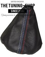 For Bmw E30 1982-91 Gear Stick Gaiter Black Genuine Leather M3 /// Stitching