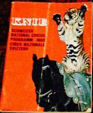 Knie Scheizer National circus programm 1966
