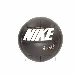 Nike Tiempo Ronaldinho Gaucho R10 Brown  Leather Football Soccer Ball Size 5