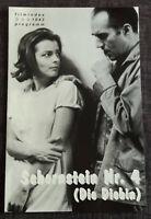 """filmindex-Filmprogramm: ROMY SCHNEIDER in """"Schornstein Nr.4"""" - Michel Piccoli #8"""