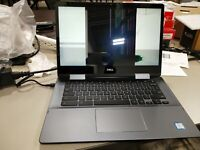 "Dell Inspiron 7486 14"" Touch 2 in 1 Chromebook i3-8130U 2.2GHz 4GB Ram 128G SSD"