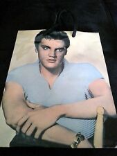 Elvis Presley Gift Bag Favor Glossy Signature Birthday Decoration 10 in x 8 in *