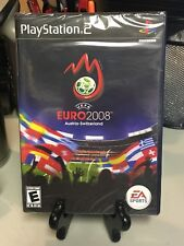 PS2 UEFA Euro 2008 Soccer Sony PlayStation 2 Brand New Factory Sealed Game