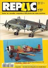 rivista REPLIC n° 45 + altri 9 numeri in OMAGGIO 1/48 Fokker D-XXI FW 200 Condor