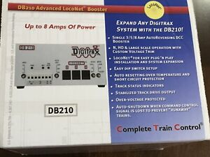 Digitrax DB 210 Single 3/5/8 Amp AutoReversing DCC Booster