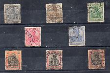 Alemania Imperio Valores del año 1902-4 (CC-877)