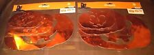 Metallic Orange Jack O'lantern Cutouts -Set of 20 Pcs