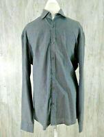 Cultura International Men's Size XL Shirt Long Sleeve Button Down Cotton Blend