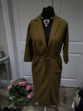 Monki Khaki Green Dress XS New