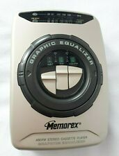 Memorex AM/FM Stereo Radio & Cassette Player Graphic Equalizer Handheld MB1012