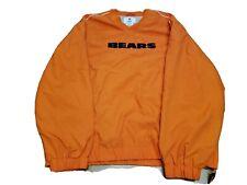 Nike Chicago Bears On The Field Men Orange Pullover  Large vintage