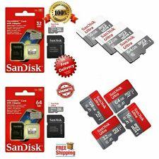 Sandisk-Micro SD-Tarjeta de memoria SDHC - 16-32-64-128-GB - Clase - 10-GB - memoria-con-adaptar