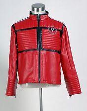 My Chemical Romance Na Na Na Kobra Kid Leather Jacket Coat Cosplay Costume