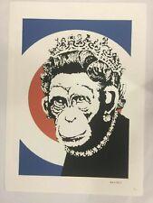 Banksy litografia cm 50x70 marchio POW ,  Copia d Autore Leggi Descrizione