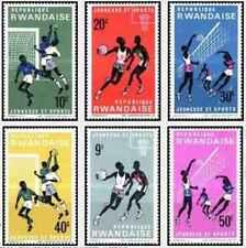 Timbres Sports Rwanda 161/6 ** lot 25809