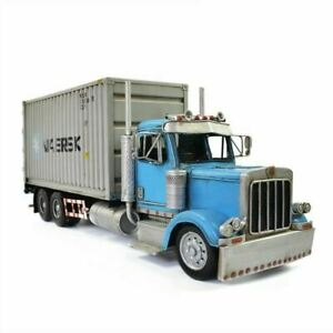 1/24 Scale American Truck Tipper Diecast Toy Engineering Vehicle Model Home Deco