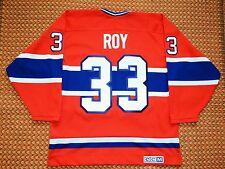 Montreal Canadiens, #33 Patrick Roy, 1993 Vintage NHL CCM Jersey, Mens Large