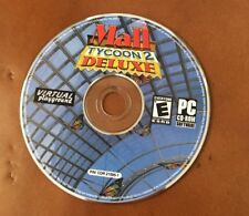 Mall Tycoon 2: Deluxe - PC game CD Only