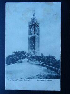 Bristol THE CABOT TOWER c1904 Postcard by Harvey Barton