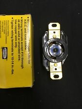 HUBBELL HBL2620 2P 3 Wire 30A 250V Receptacle Twist Lock L6-30R Replaces 2620A