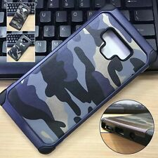 2 in 1 Camouflage Armor CS Military Outdoor Shockproof Back Case Cover Fr Galaxy