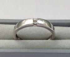9ct Gold Diamond Ring Size L1/2