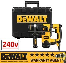 DeWALT D25323K D25323 800W 240V L Shape SDS 3 Mode Combi Hammer Low Vibration N