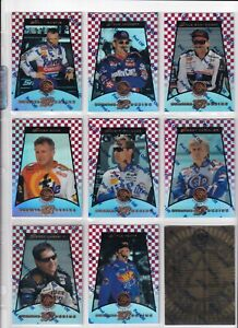 1997 Pinnacle Certified MIRROR RED PARALLEL #91 Mark Martin--ONE CARD!
