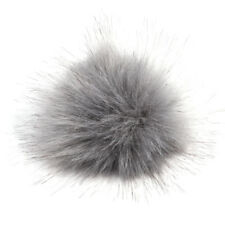 10cm Raccoon Fur Fluffy Pom Pom Ball For Hat Clothing Bag Shoes Keychain DIY