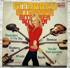 "12"" vinile chitarra! chitarra chitarre!! - Marc grffin and the Silver Guitars"