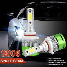 Pair 9006 HB4 200W CREE LED Headlight Kit 20000LM Bulb 6000K White Car Lamp