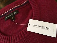 RRP $95AUD BANANA REPUBLIC Mens Merino Wool Jumper Size XL Brand NEW With Tags