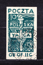 (PL) Polish Officers POW Camp Woldenberg Fi 34 used expertised by Korszen