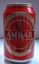 AMBAR ESPECIAL 33 CL 5,2% SPAIN  Lata vacia empty can leere dose lattina vuota