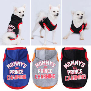 Puppy Dog Cotton Hooded Letter Printed Hooded Coat Blouse Bulldog Jacket Blouse