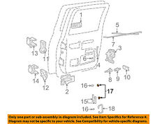 GM OEM FRONT DOOR-Hinge Assembly Bushing 16632192