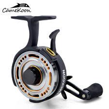 CAMEKOON FL501L Freefall 2.5:1 LH Retrieve Inline Ice Fishing Reel -Anti Reverse