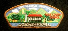 BSA MAUI COUNTY COUNCIL HI OA LODGE MALUHIA 554 FLAP 2013 JAMBOREE JSP HAWAII