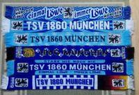 6x Schal Fanschal TSV 1860 München Löwen Kult Nr. 1 blau Ultras  Kaiserslautern