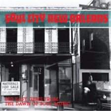 Various Artists-Soul City New Orleans  (UK IMPORT)  CD NEW