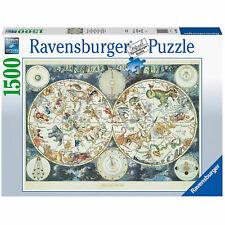 3317082-ravensburger Puzzle - Mappa del mondo di Animali Fantastici 16003 7